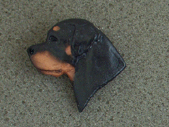 Rottweiler - Brooche Small Head