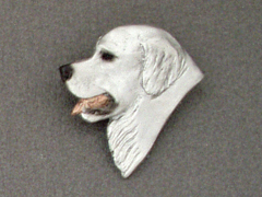 Kuvasz - Brooche Small Head
