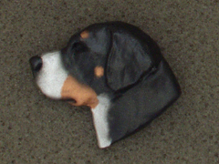 Large Swiss Mountain Dog - Brooche Small Head