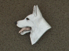 German Shepherd - Brooche Small Head