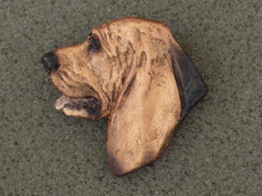 Bloodhound - Brooche Small Head
