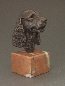 English Cocker Spaniel - Classic Head On Marble Base