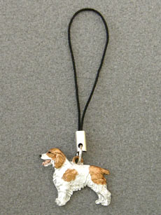 Welsh Springer Spaniel - Cell Phone Charm