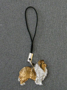 Sheltie - Cell Phone Charm