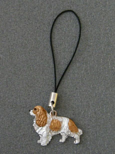 Cavalier King Charles Spaniel - Cell Phone Charm