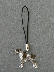 German Wirehaired Pointer - Cell Phone Charm