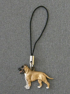 American Staffordshire Terrier - Cell Phone Charm