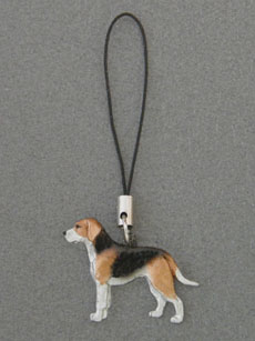 Finnish Hound - Cell Phone Charm