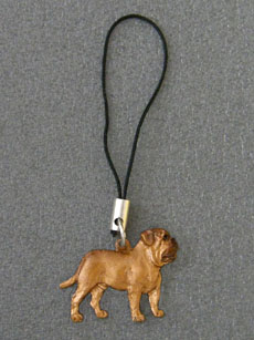 Dogue de Bordeaux - Cell Phone Charm