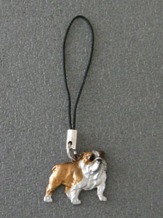 English Bulldog - Cell Phone Charm