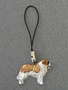 St. Bernard - Cell Phone Charm