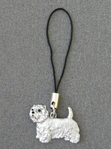 West Highland White Terrier - Cell Phone Charm