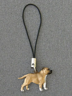 Staffordshire Bullterrier - Cell Phone Charm