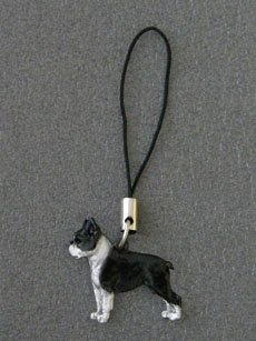 Boston Terrier - Cell Phone Charm