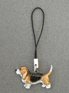 Basset Hound - Cell Phone Charm