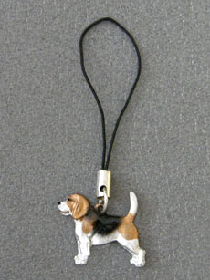 Beagle - Cell Phone Charm