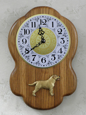 Labrador Retriever - Wall Clock Rustical Figure