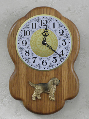 Otterhound - Wall Clock Rustical Figure