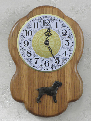 Cane Corso - Wall Clock Rustical Figure