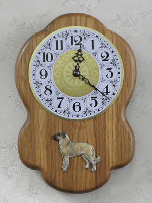 Anatolian Shepherd - Wall Clock Rustical Figure