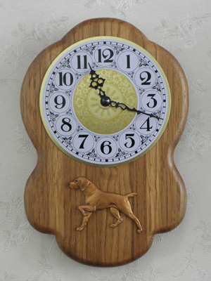 Viszla - Wall Clock Rustical Figure