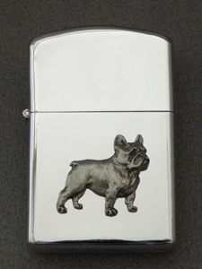 French Bulldog - Gasoline Ligter Figure