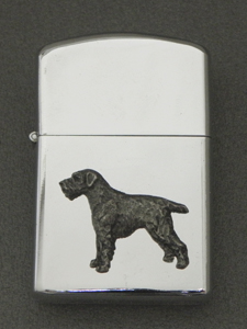 German Wirehaired Pointer - Gasoline Ligter Figure