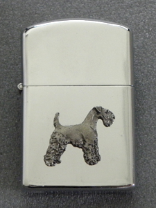 Airedale Terrier - Gasoline Ligter Figure