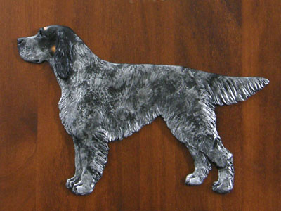 English Setter - Gate Sign