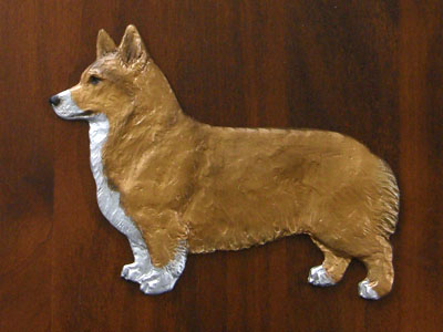 Welsh Corgi Pembroke - Gate Sign