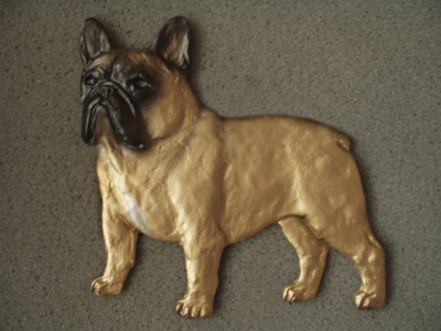 French Bulldog - Gate Sign