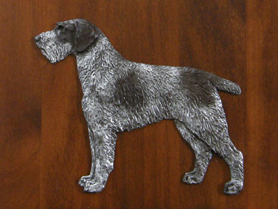 German Wirehaired Pointer - Gate Sign