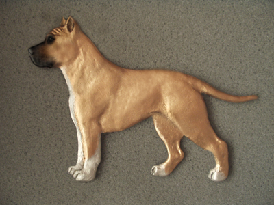 American Staffordshire Terrier - Gate Sign