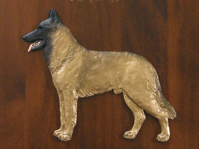 Belgian Malinois - Gate Sign