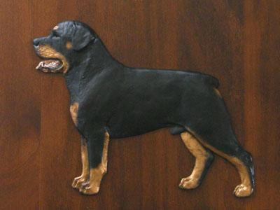 Rottweiler Gate Sign Milan Orm Dog Art Shop Dogs