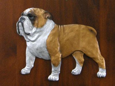 English Bulldog - Gate Sign