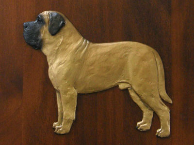 Mastiff - Gate Sign