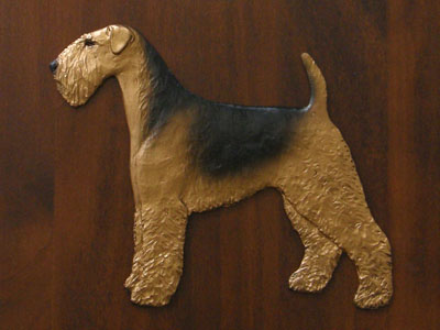Airedale Terrier - Gate Sign
