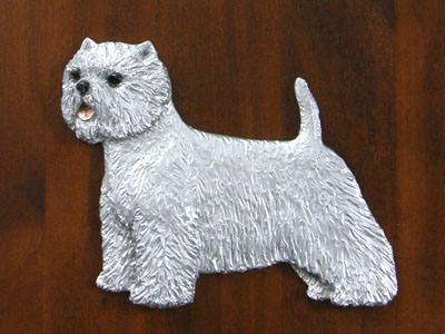 West Highland White Terrier - Gate Sign
