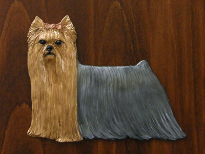 Yorkshire Terrier - Gate Sign
