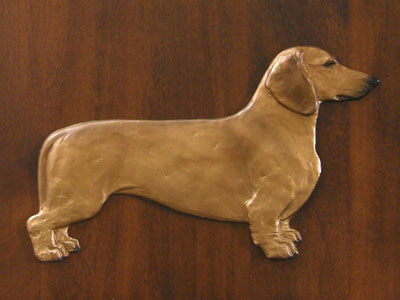 Dachshund Smooth - Gate Sign