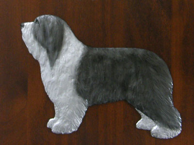 Bearded Collie - Gate Sign