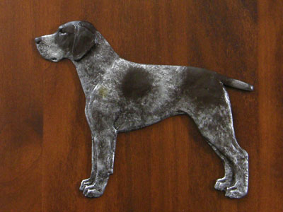 German Shorthaired Pointer - Gate Sign
