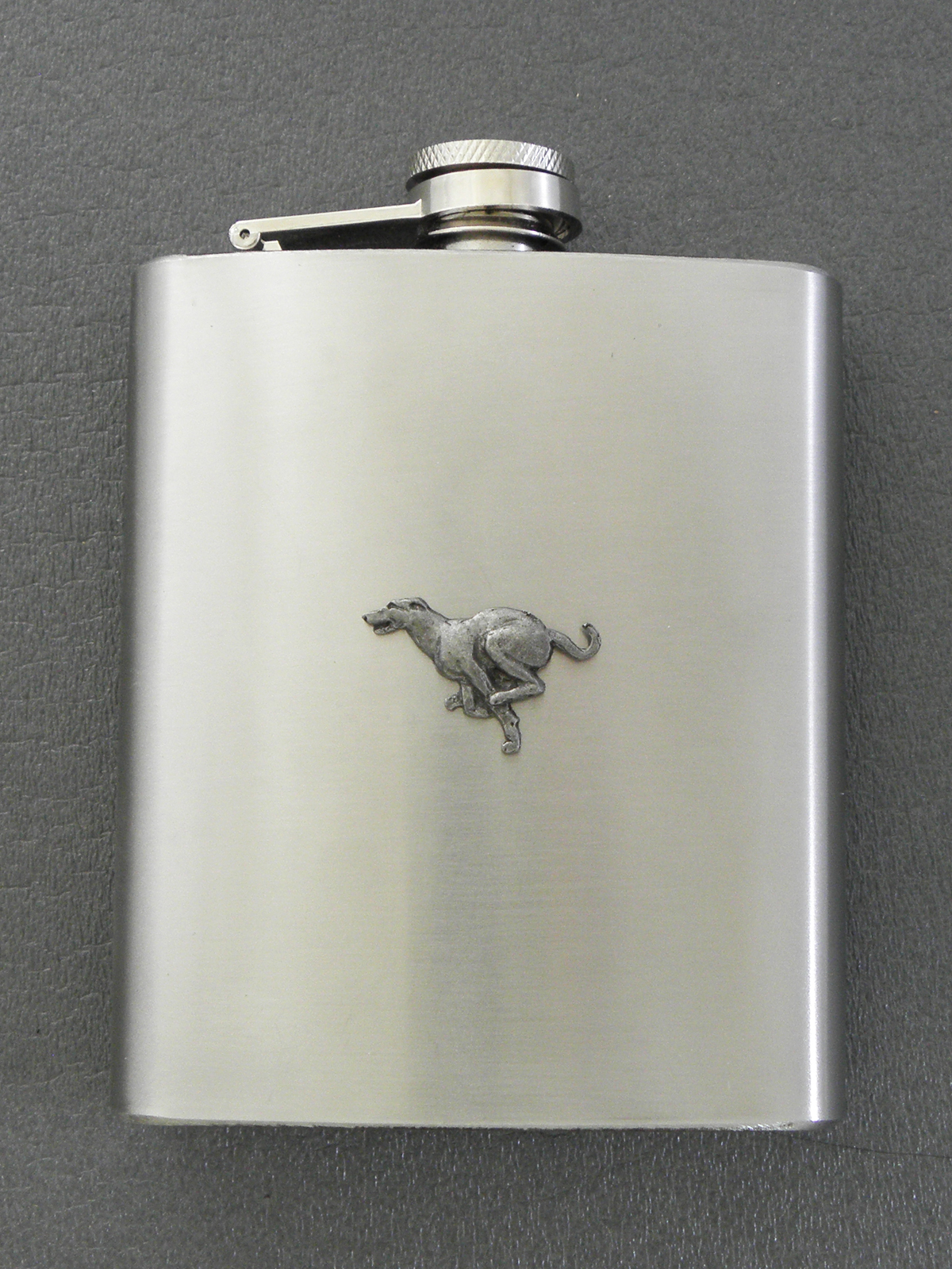 Greyhound - Hip Flask Figure