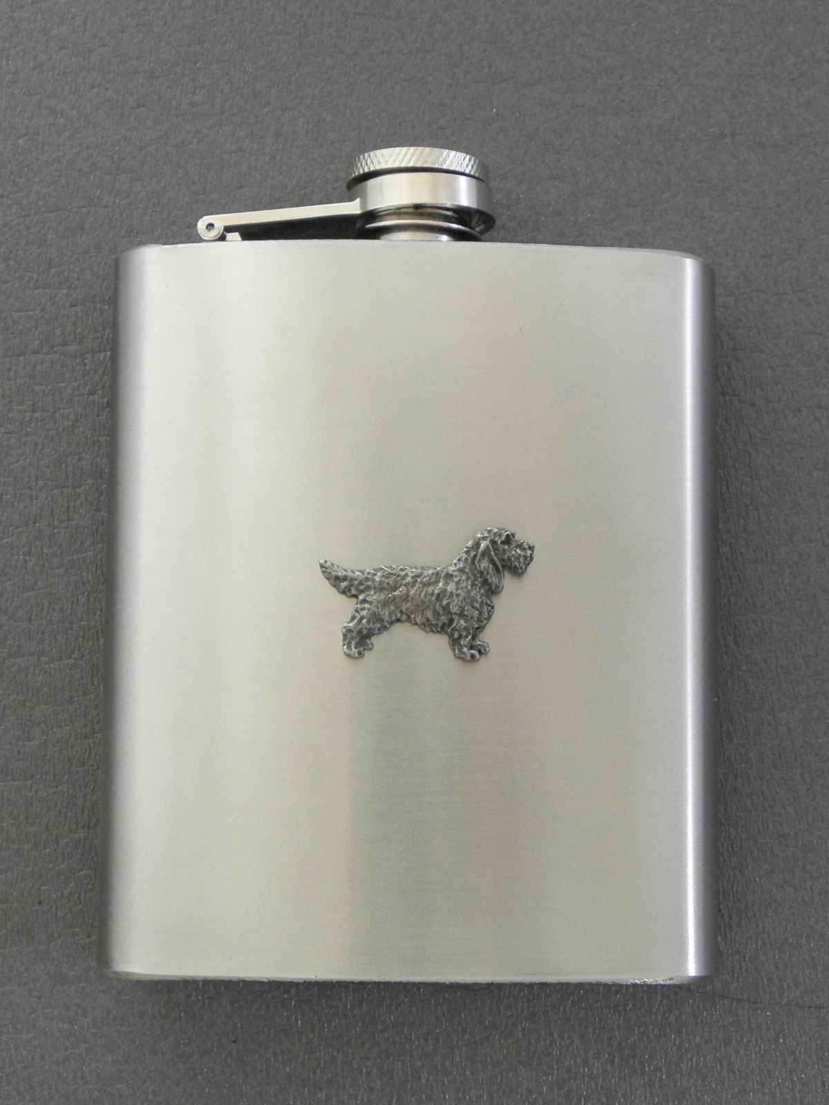 Basset Griffon Vendéen - Hip Flask Figure