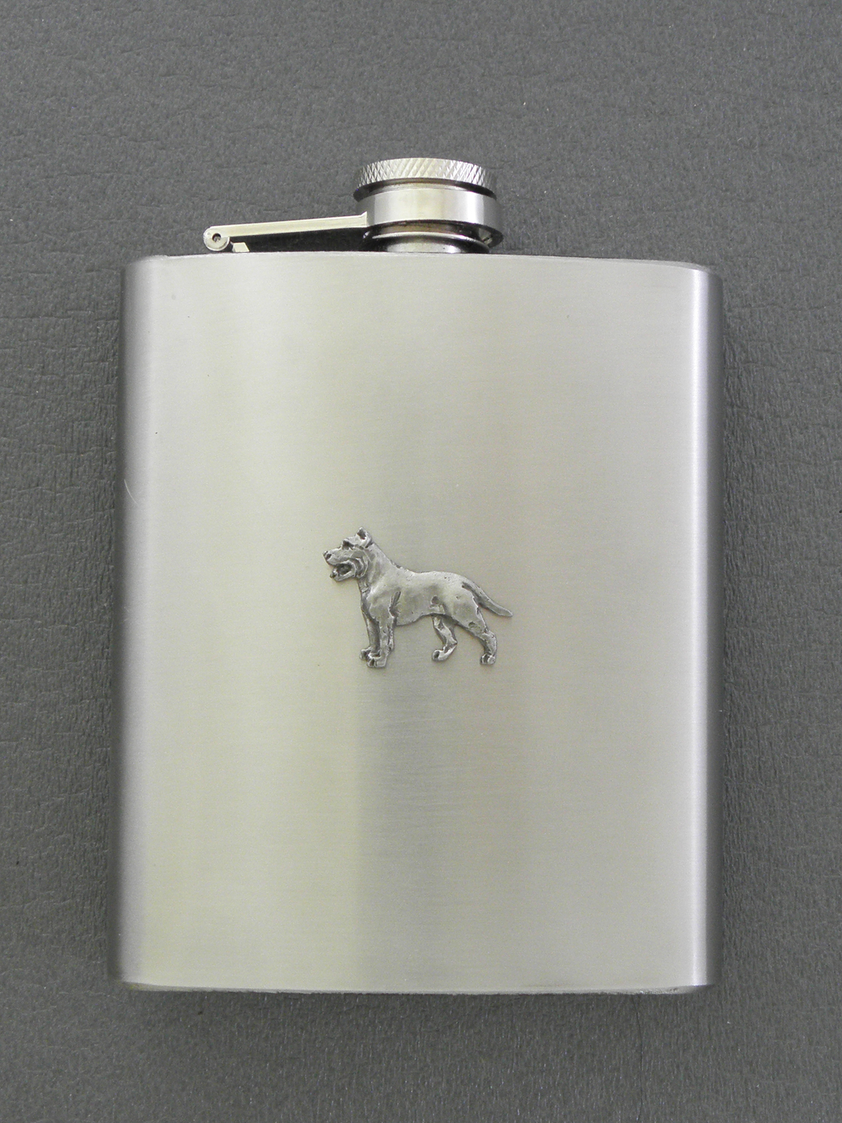 American Staffordshire Terrier - Hip Flask Figure