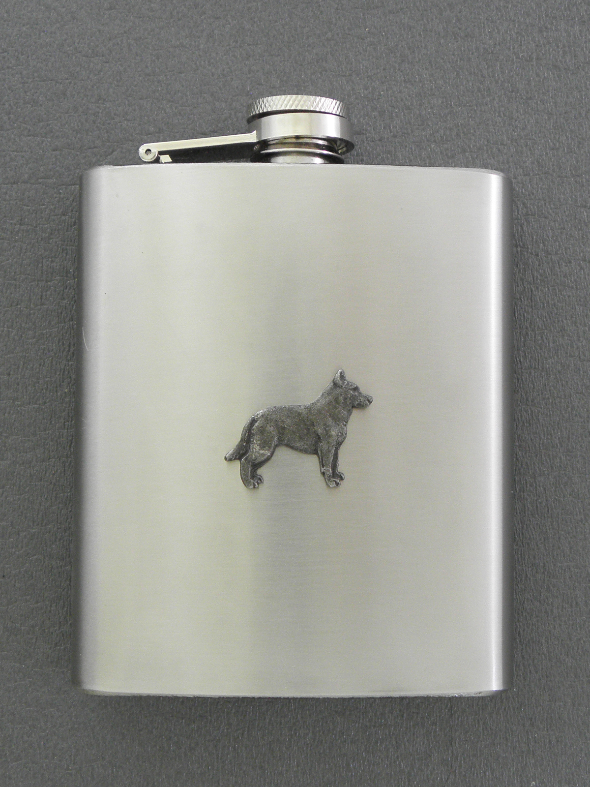 Australian Cattle Dog - Hip Flask Figure