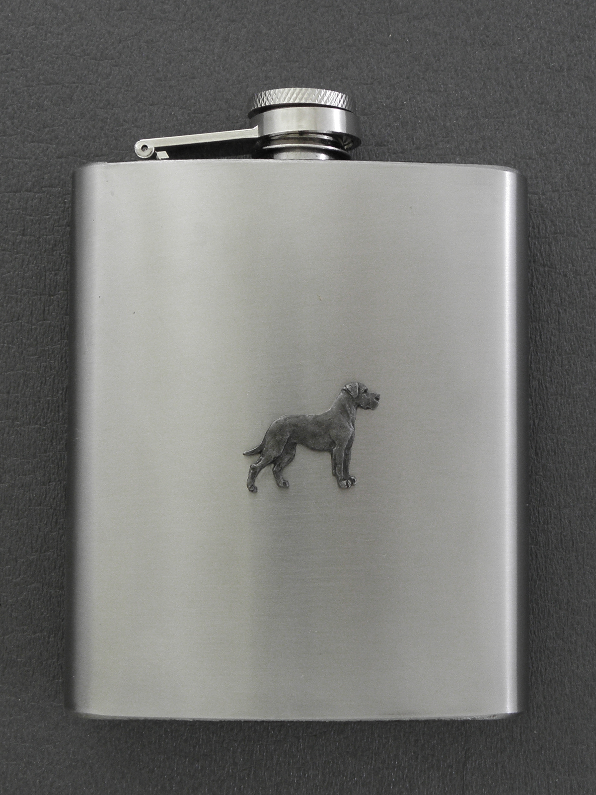 Great Dane - Hip Flask Figure