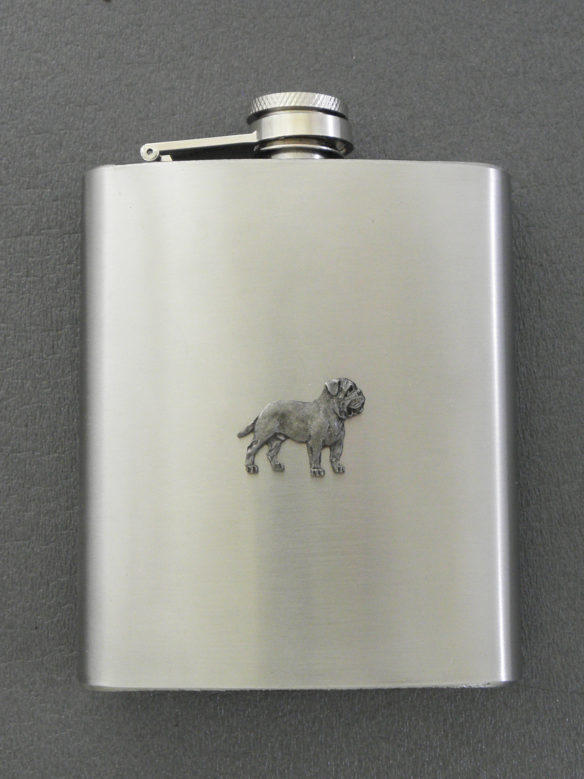Dogue de Bordeaux - Hip Flask Figure