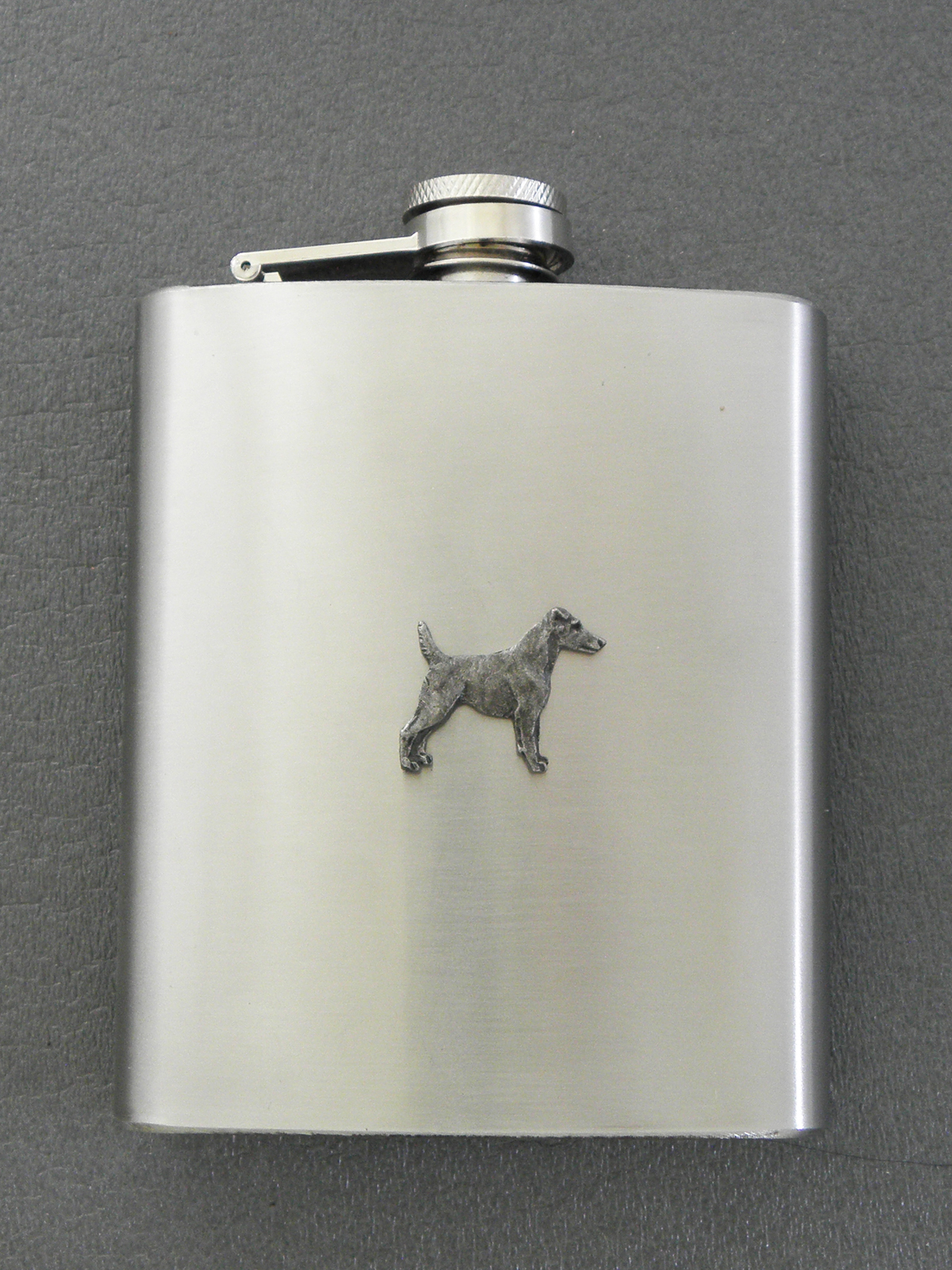 Fox Terrier Smooth - Hip Flask Figure